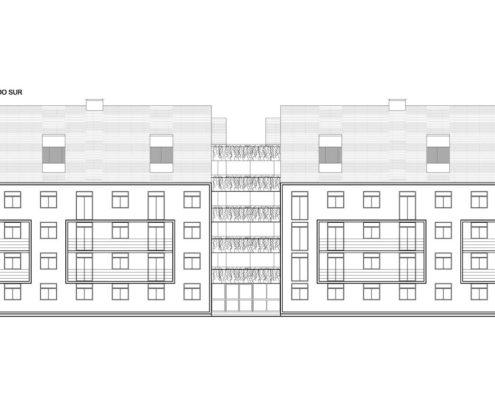 EL RODEO Eco-City. Bloque viviendas VIP ampliables (46 a 70 m2) Tipo B (1)