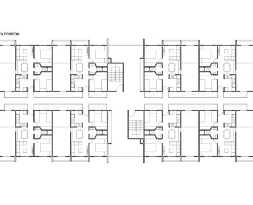 EL RODEO Eco-City. Bloque viviendas VIP ampliables (46 a 70 m2) Tipo B (2)