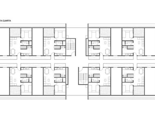 EL RODEO Eco-City. Bloque viviendas VIP ampliables (46 a 70 m2) Tipo B (3)