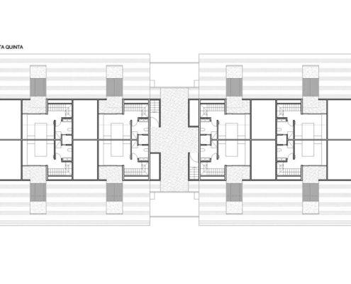 EL RODEO Eco-City. Bloque viviendas VIP ampliables (46 a 70 m2) Tipo B (4)
