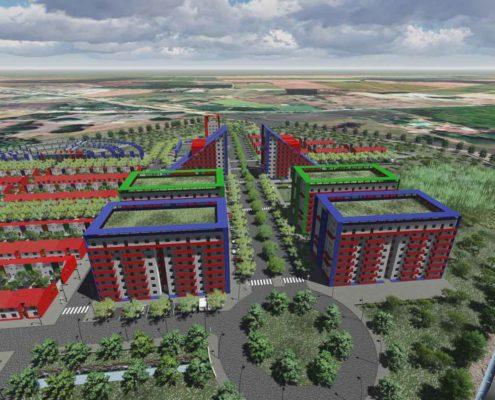 EL RODEO Eco-City. Cali. Colombia. PhD Architect Luis De Garrido (14)