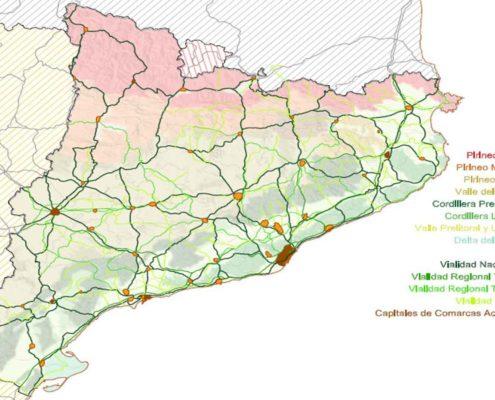 Mapa de Ciudades de Catalunya