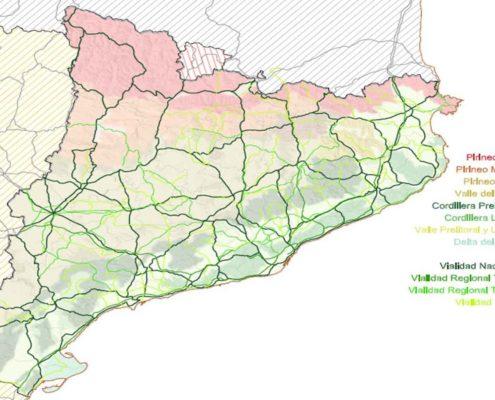 Mapa de Vialidad de Catalunya