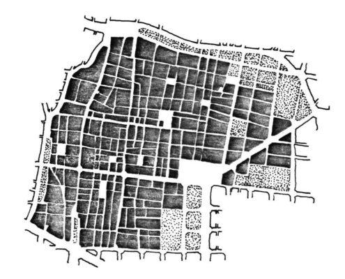 Reestruración de Gracia. Ciudad Federal Barcelona. 2200