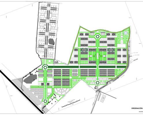 1. El Rodeo Social Eco-City. General Urban Plan