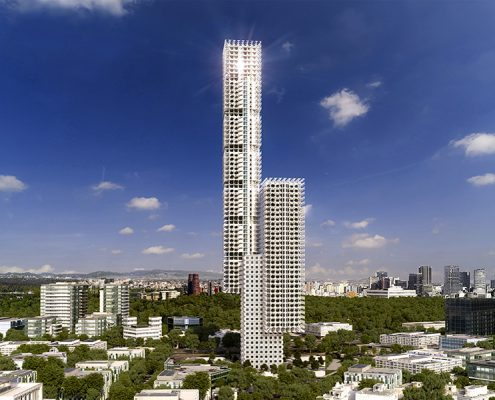 MEX Eco-Tower. CDMX. México
