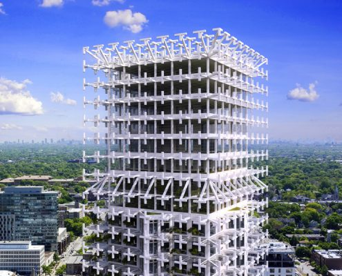 MEX Eco-Tower. CDMX. México